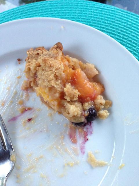 Peach Pie Eat On Edgecliff