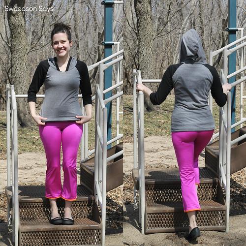 Greenstyle Everyday Yoga Pants Centerfield Raglan