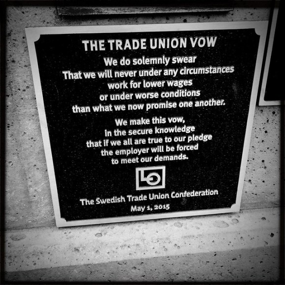 The Trade Union Vow