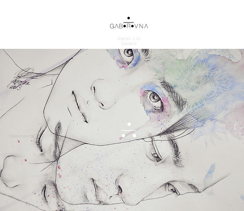 Kyungsoo - Water Lily fanart - Details