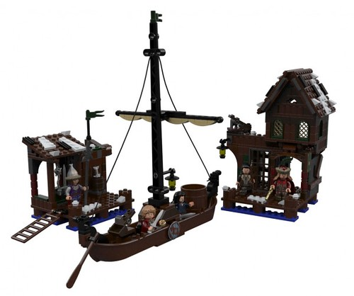 LEGO The Hobbit Lake Town Chase