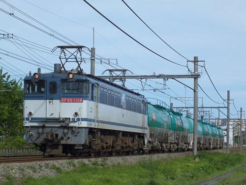 EF65 1138 @行田〜熊谷