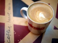 Flat White, Viking Coffee, Kandahar Street