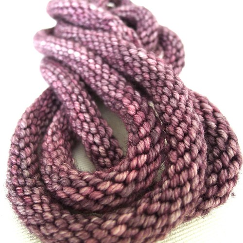 percolating design - purl necklace