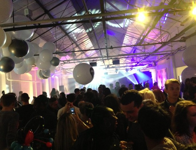 warehouse summer party