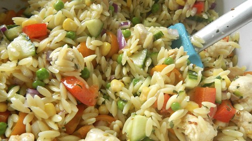 Chicken Orzo Salad 22