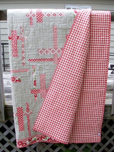 Terry Atkinson Tortilla Strips Quilt in Bonnie and Camille's Modern Vintage