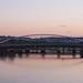 New bridge over Vltava in Troja
