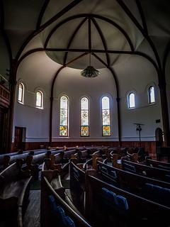 Circular Congregation Church Interior
