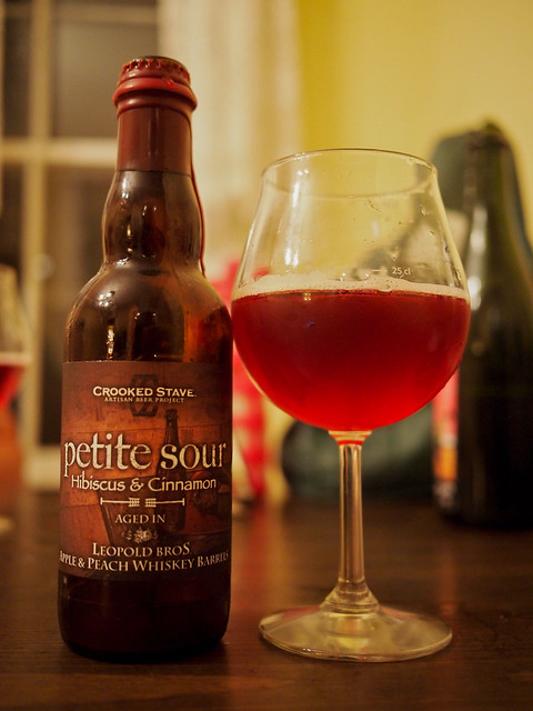 Crooked Stave Petite Sour Hibiscus & Cinnamon (Apple/Peach Whiskey)