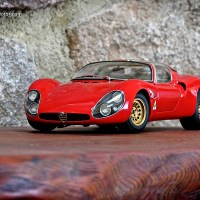 New Model: Alfa Romeo Tipo 33 Stradale by AUTOart