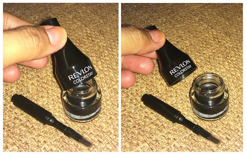 Revlon ColorStay Gel Eyeliner product shots