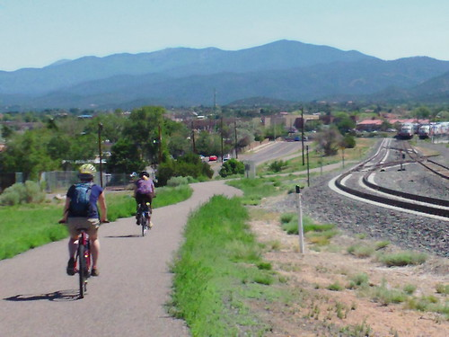 santa fe rail trail riding