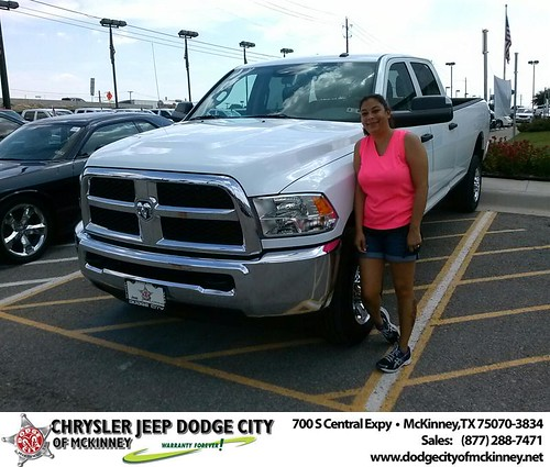 Thank you to Larry Bagby on the 2013 Ram 2500 from David Walls and everyone at Dodge City of McKinney! by Dodge City McKinney Texas