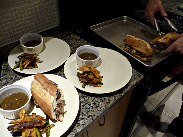steak sandwiches