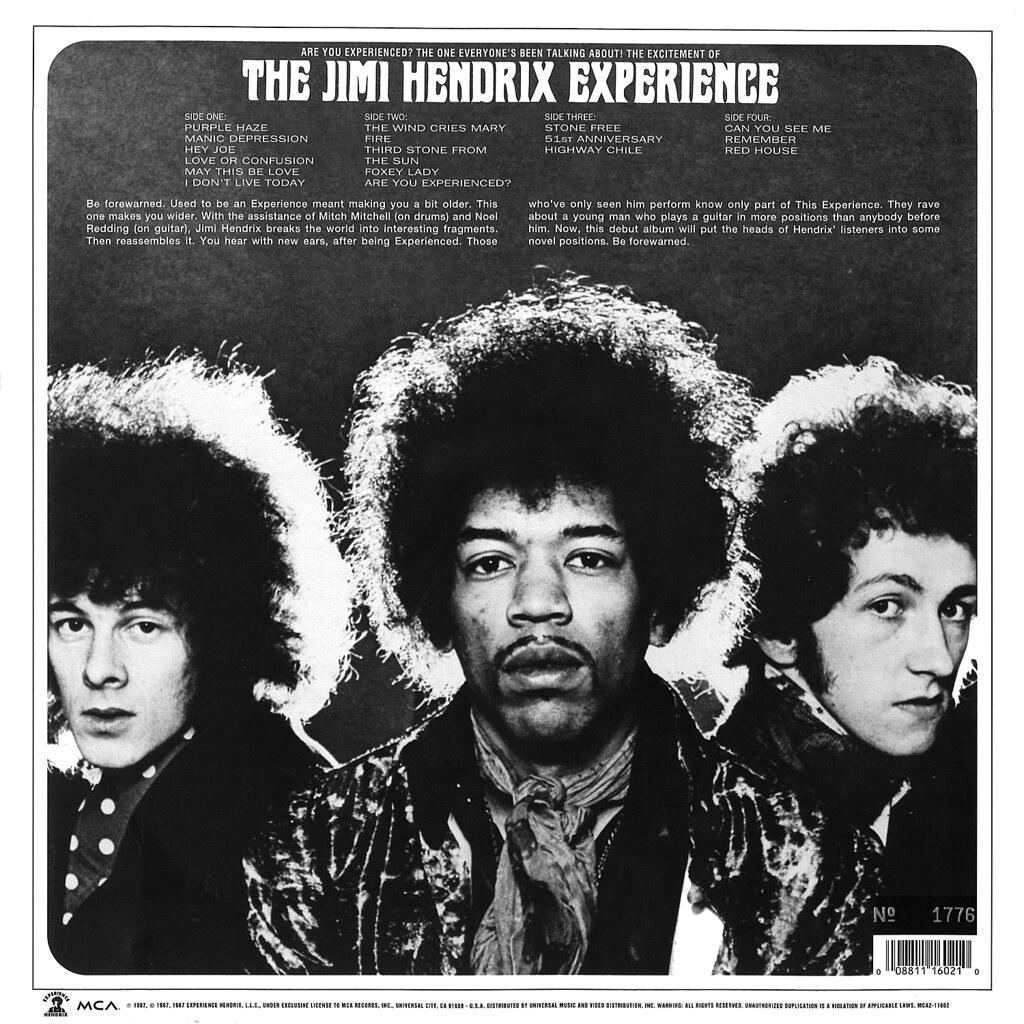 The Jimi Hendrix Experience Origin Of Heavy Metal