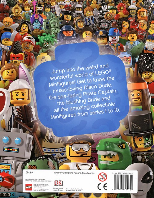 LEGO Minifigures Character Encyclopedia cover2