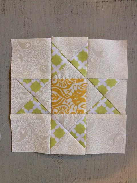 Hand Pieced Quilt Along - Block 3 - Ohio Star