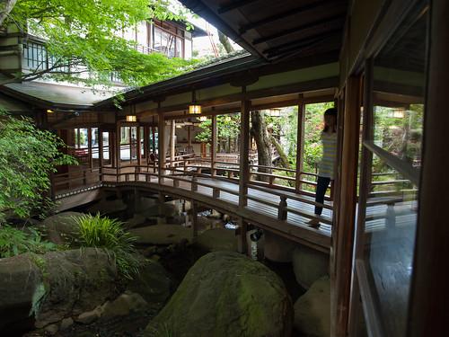 Arai Ryokan Courtyard 3