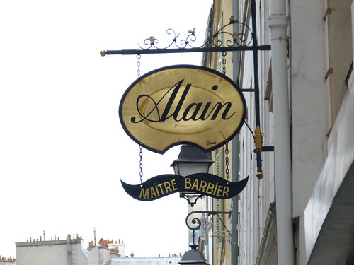 Alain, Maitre barbier