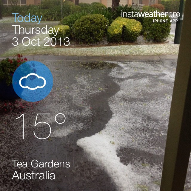 Just had a tornado - #instaweather #instaweatherpro #weather #sky #outdoors #nature #world #love #followme #follow #beautiful #instagood #fun #cool #like #life #nice #happy #colorful #photooftheday #amazing #teagardens #australia #day #spring #au