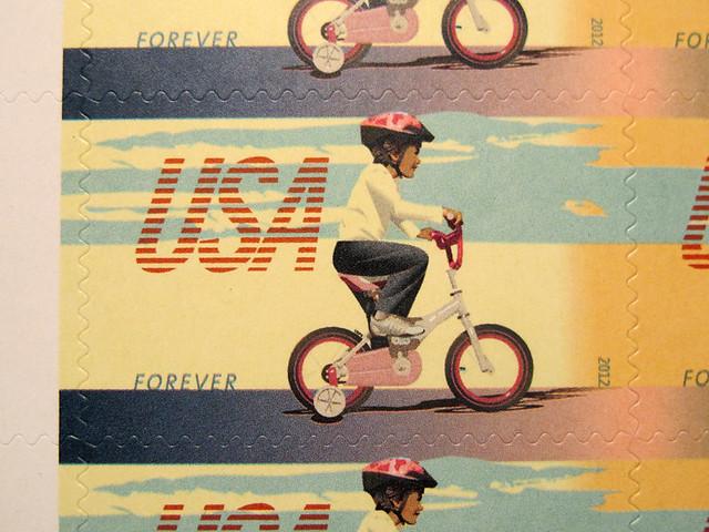 US Bike Stamps - 1
