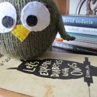 Mr. Sedaris, I Made You an Owl
