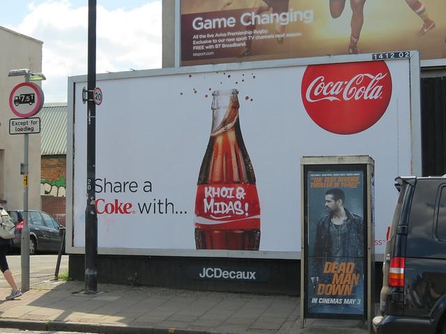 Adapted Coke ad