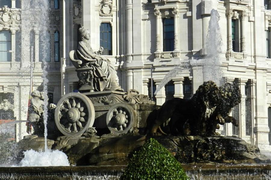 Madrid Fuente La Cibeles 04
