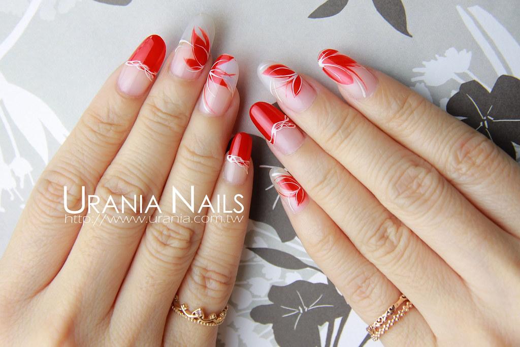 ♥ 指甲上的花花世界!花卉彩繪的指上藝術 1