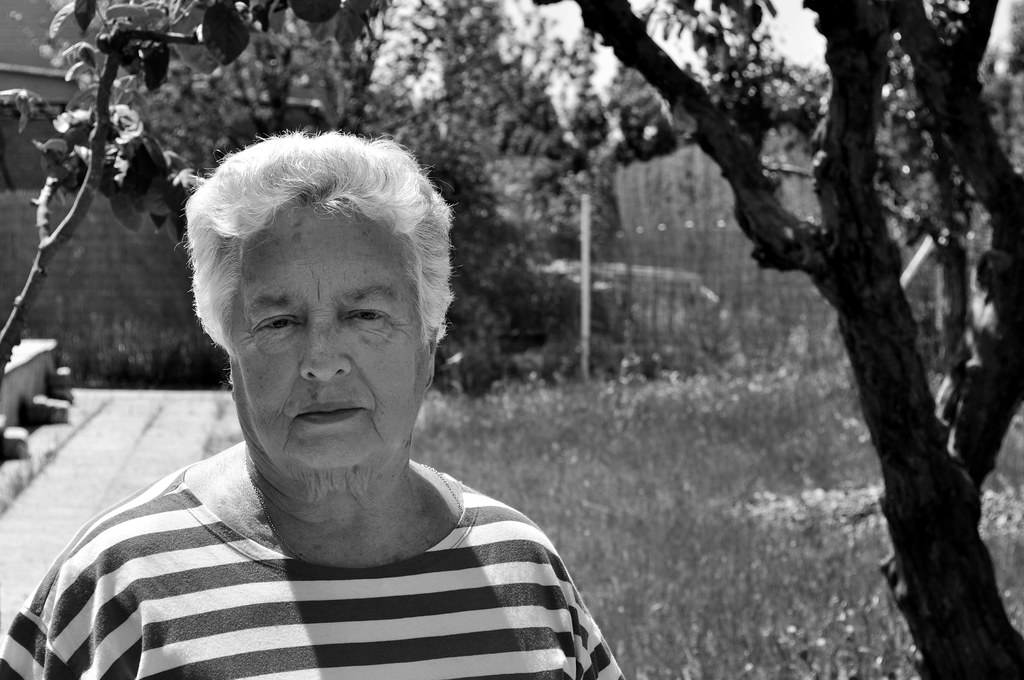 Nan in black and white