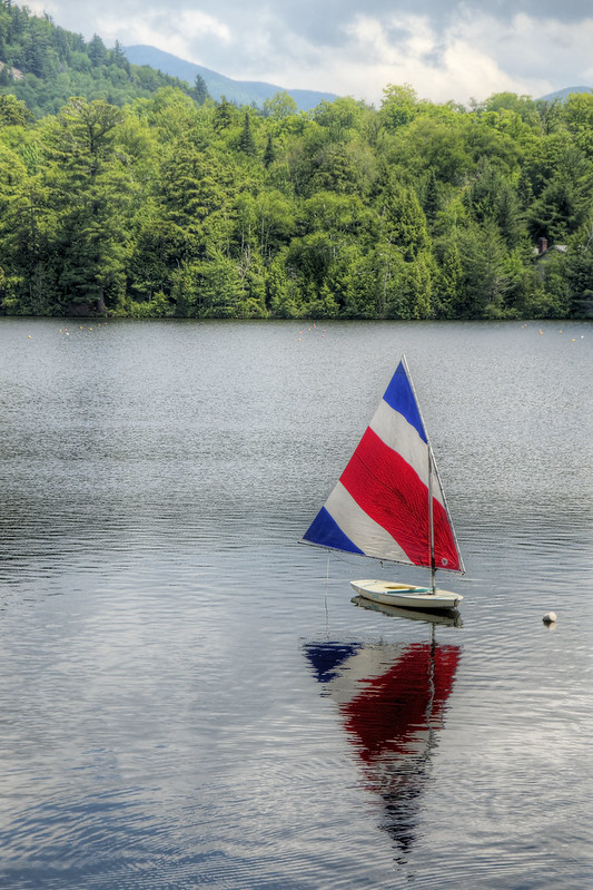 Calm on Mirror Lake