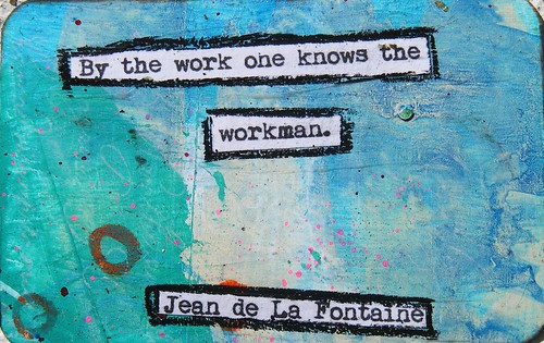 Jean de La Fontaine Creativity Quote