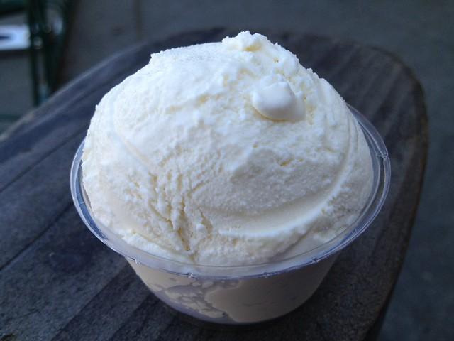 Vanilla honey lavender ice cream Fairfax Scoop