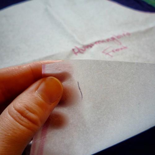 pattern paper trace a pattern