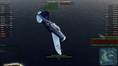 World of Warplanes Avion en caida