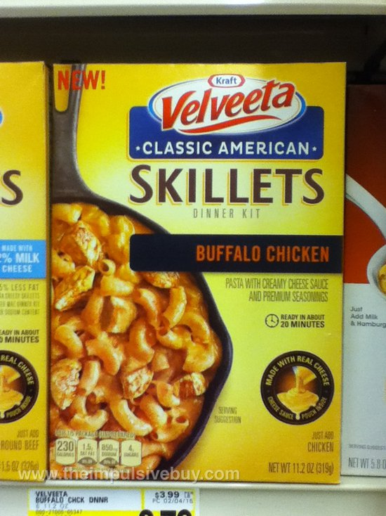 Kraft Velveeta Buffalo Chicken Classic American Skillets