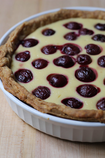 baked yogurt tart