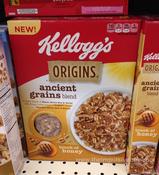 Kellogg's Origins Ancient Grains Blend Touch of Honey