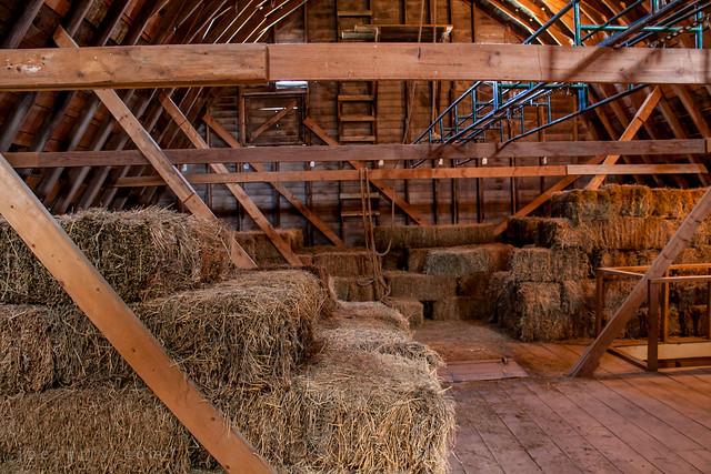 Barn hay loft