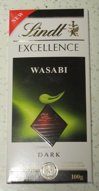 Lindt Wasabi chocolate