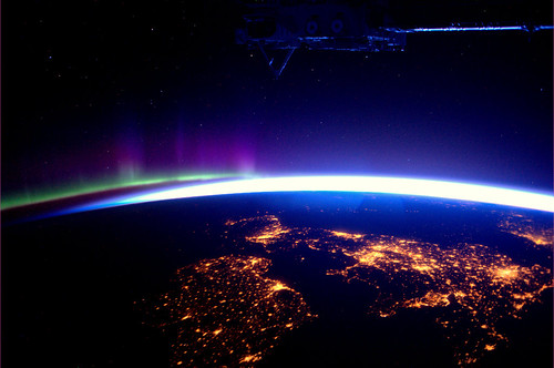 The UK and Ireland, as seen from the ISS by europeanspaceagency