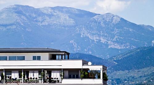 Paesaggio - Montagne da Frosinone by Roberto Di Molfetta