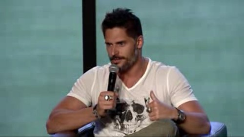 Joe Manganiello at Nerd HQ