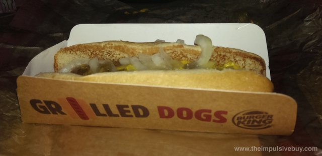 Burger King Grilled Dog