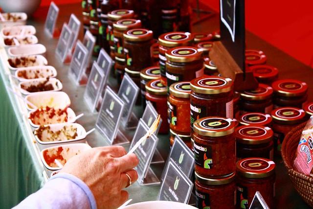 Chili stall