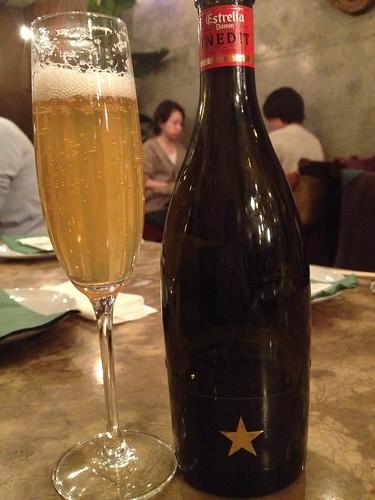 シャンパンビール イネディットで乾杯@エンボカ 東京