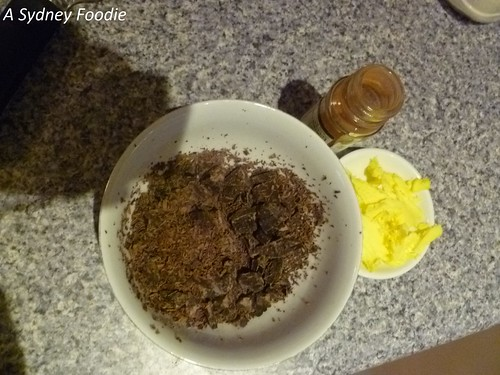 Chocolate Babka - filling