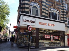 Love Joys Book Shop, Charing Cross Road