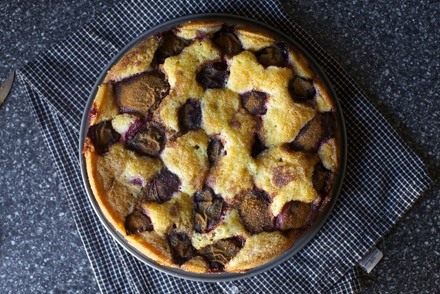 famed plum torte, day two